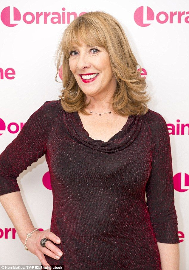 Phyllis Logan, pictured at a recent press tour for the TV show Lorraine. The Downton Abbey...