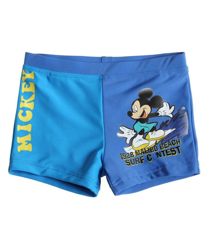 Maillot de bain Garcon bleu Disney Mickey par UnCadeauUnSourire.com