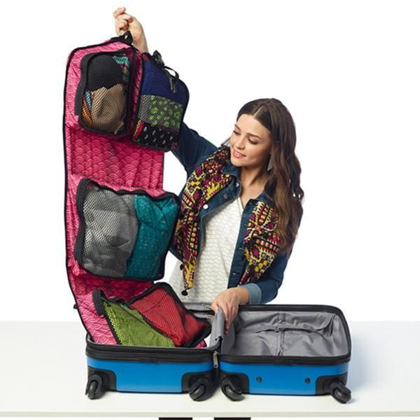 how to pack suitcase no wrinkles