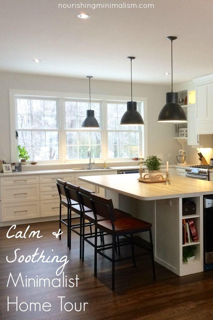 Calm Soothing Minimalist Home Tour Rachel In 2018 Dream Home
