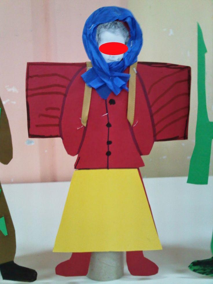 Νηπιαγωγείο με Φαντασία: Κούκλες Στρατιώτης, Ηπειρώτισσα και πατρόν