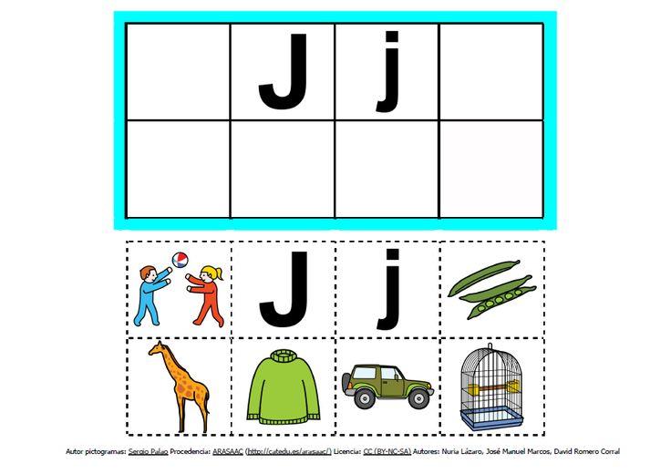 Abecedario con pictogramas: J http://informaticaparaeducacionespecial.blogspot.com.es/2013/09/abecedario-con-pictogramas-de-arasaac.html