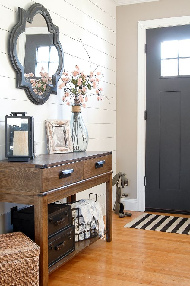 25 best ideas about entryway furniture on pinterest for Entry wall table