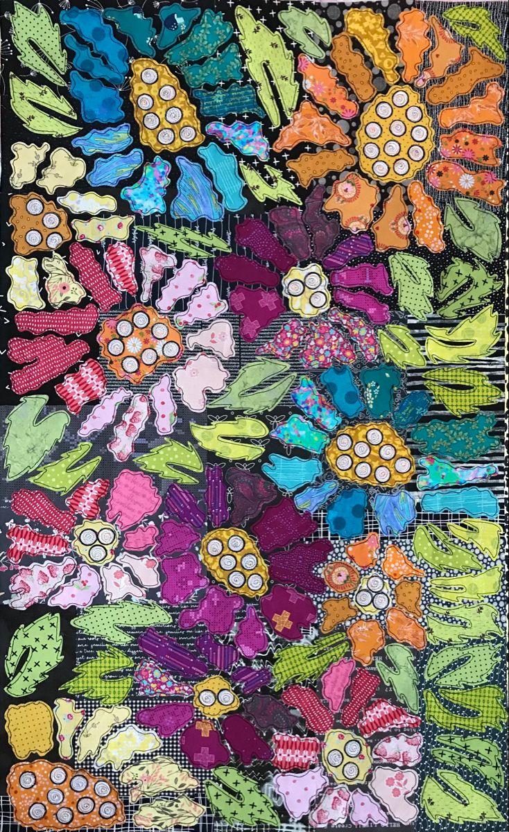 Boho Blooms by Laura Heine in 2021   Laura heine, Art ...
