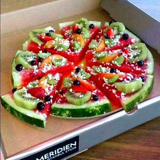 Yummy fresh summer pizza more hilarious pics on http://ha-ha-pis.com/