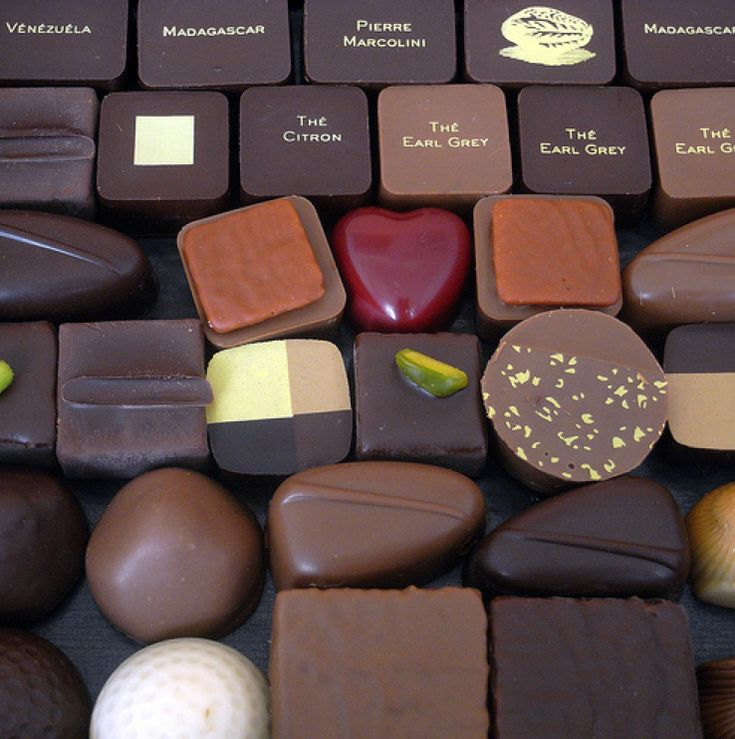Pierre Marcolini - some of the best chocolate in the world.  Expensive too though.