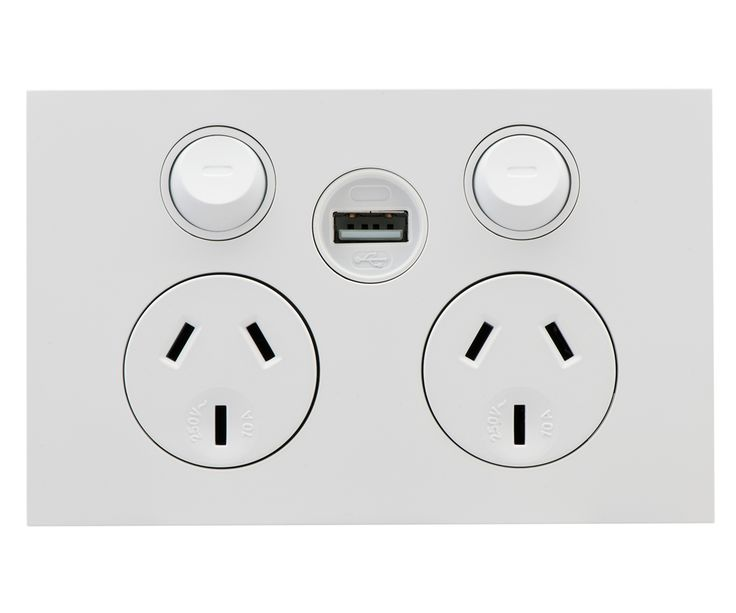 USB Charger - Clipsal by Schneider Electric