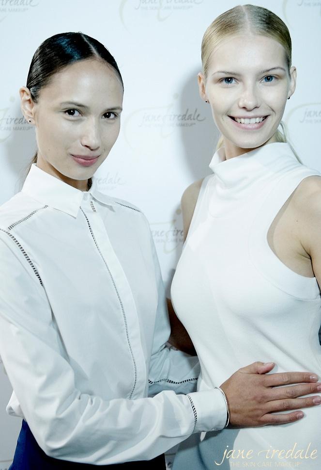 NY fashion week and Jane Iredale 2012