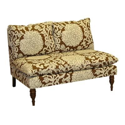 Upholstered Loveseat in Athens Chocolate