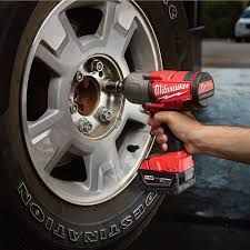 Image of a #cordless #milwaukee impact wrench #tool
