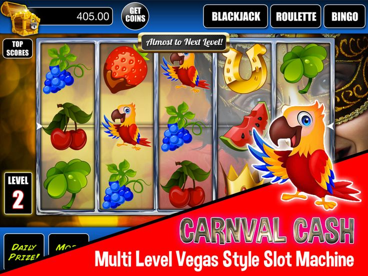 Slot machine game with great bonus games .. blackjack, bingo, roulette, etc .. CHECK it out today!