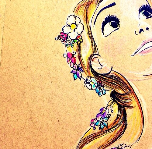 Tangled Rapunzel art