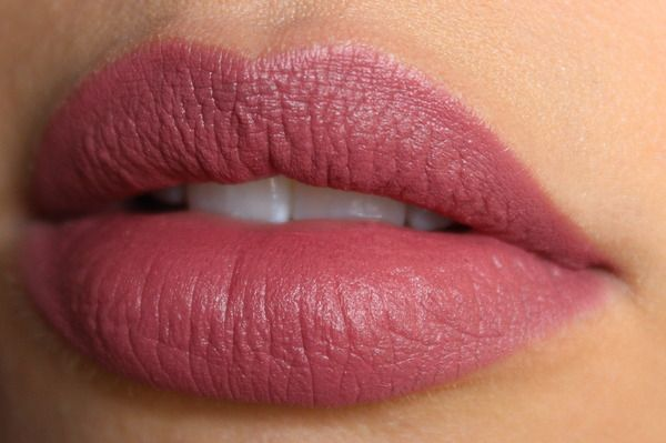 Rimmel London Kate Moss Matte Lipstick #04 perfect amount of color for a natural look.