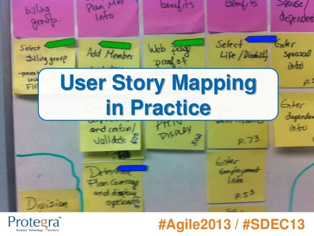 User Story Mapping in Practice  #Agile2013 / #SDEC13