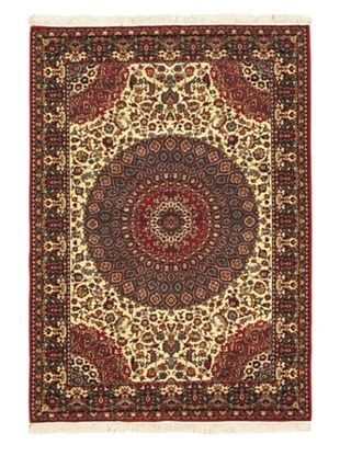 60% OFF Royale Rug, Cream, Red, 5' 6