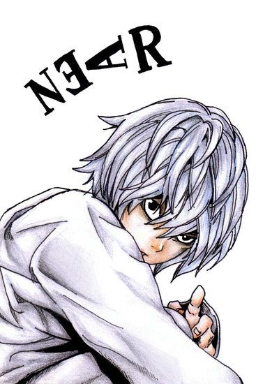 Death Note: Near. After L died in the anime, I just couldn't bring myself to watch the rest of the anime. But I did watch a few episodes with Near and Mello. I never watched any with Matt though. i may rewatch the anime again.