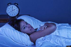 La notte nob riewco a dormire: l' insonnia.