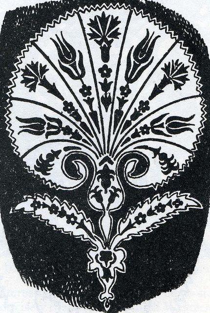 Turkish motif 16th century by Design Decoration Craft, via Flickr