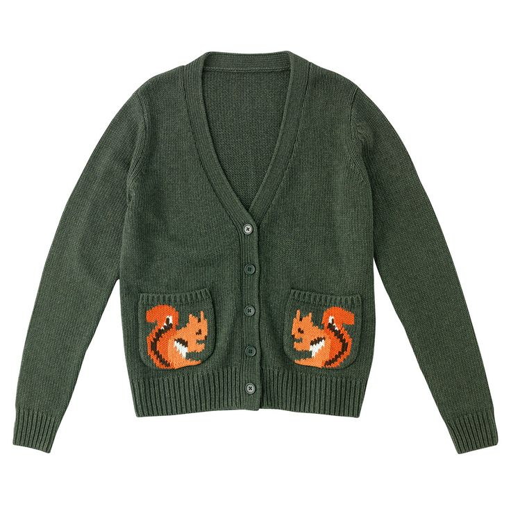 Squirrel Pocket Cardigan | Cath Kidston |