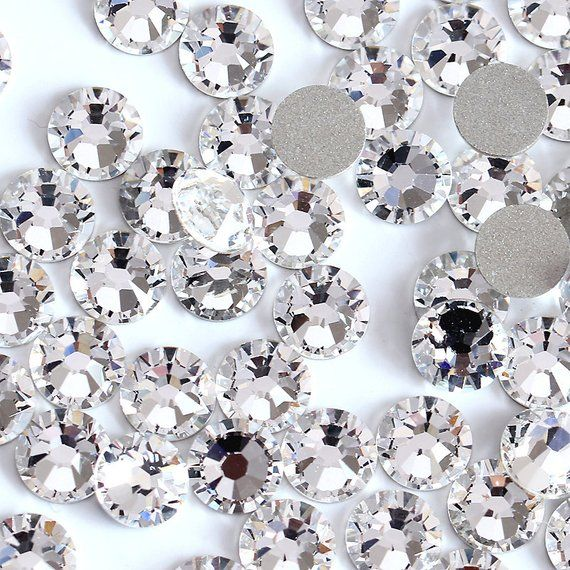 2000 2038 /& 2078 Swarovski® Hotfix Crystals Flatback Crystal Copper