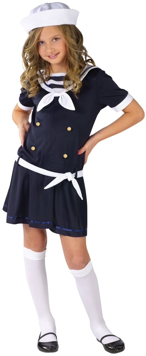 Sailor Girl Costume | Sea Sweetie Sailor Costume for Kids