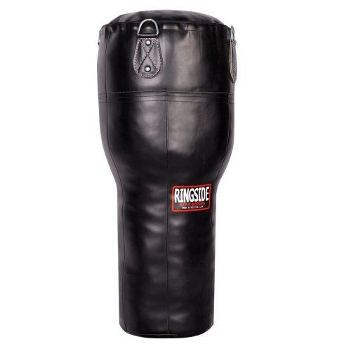 Ringside Ringside Angle Boxing Bag by Ringside. $129.99. With a variety of of punching surface to choose from, the appropriately named Angle Bag allows you to throw straight punches, hook, uppercuts, and body shots with ease. Resilient vinyl shell is built to last.Bag weighs approximately 60lbs. A Heavy Bag Chain and Swivel are included.Additional shipping charges apply for this item. The exact amount is quoted at the checkout or by selecting to estimate your shipp...