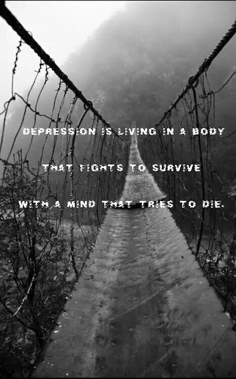 Depression ....                                                                                                                                                                                 More
