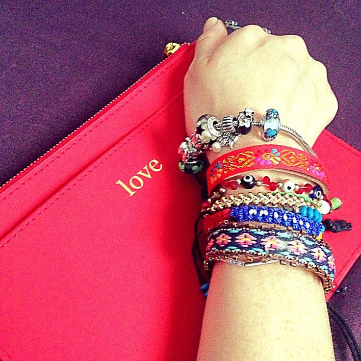 Apasionada y Enamorada   @forever21 http://www.pandora.net/en-us