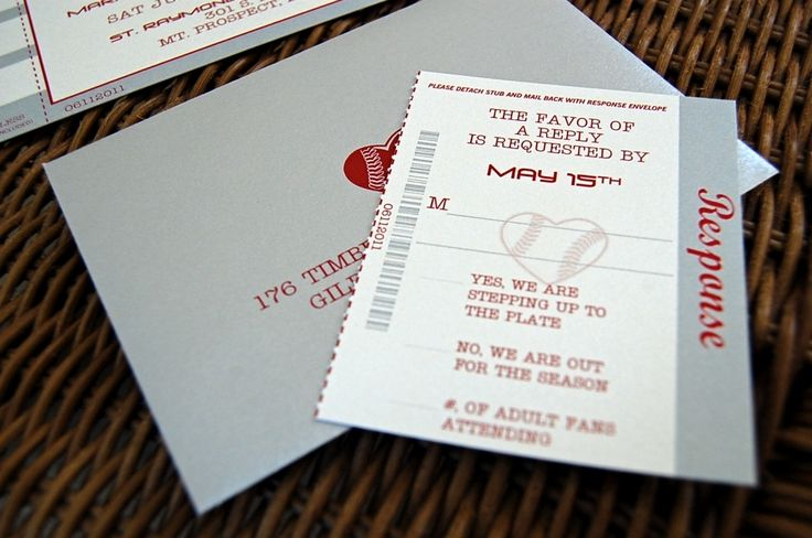 Baseball Wedding Invitation: 17 Best Ideas About Baseball Invitations On Pinterest