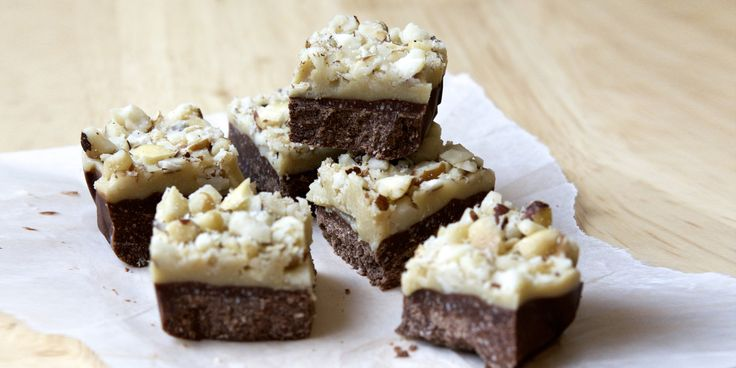 I Quit Sugar - Caramel Nut Slice by Lillian Dikmans
