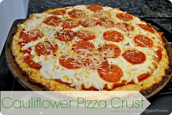 The Best Cauliflower Pizza Crust, Low-Carb and Delicious