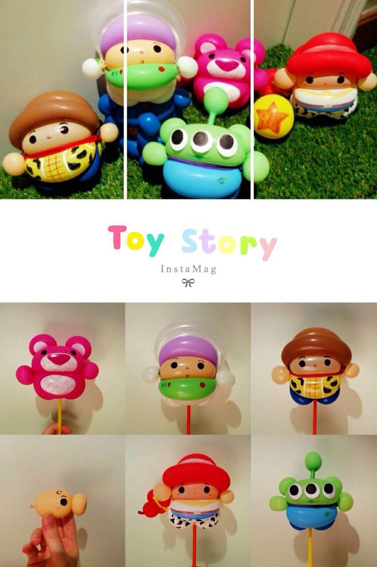 Mini characters models cartoon