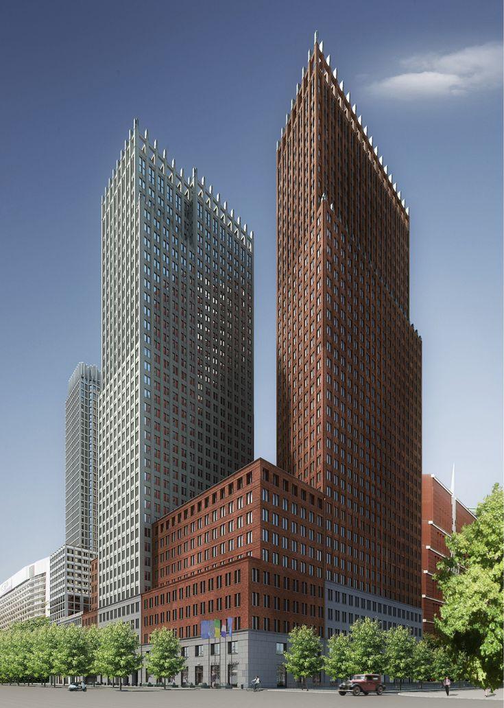 Kollhoff - Ministerien für Sicherheit und Justiz & Inneres und Beziehungen des Königreichs der Niederlande Verwaltungsgebäude | Den Haag | 2013