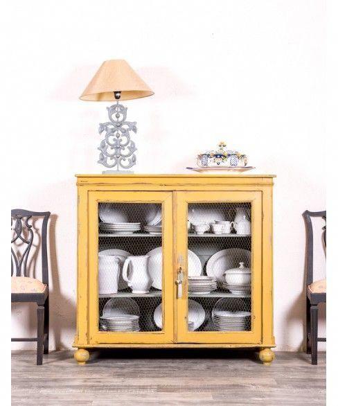 Alacena Antigua Restaurada Tarazona  mueblepintado  decoracion   mueble salon  comedor  hall  hotel  vintage  restauracion  tiendaonline   mobiliario ... f2ac9463002d