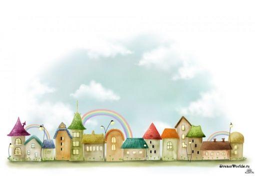 Рисунки детские на тему дома 3