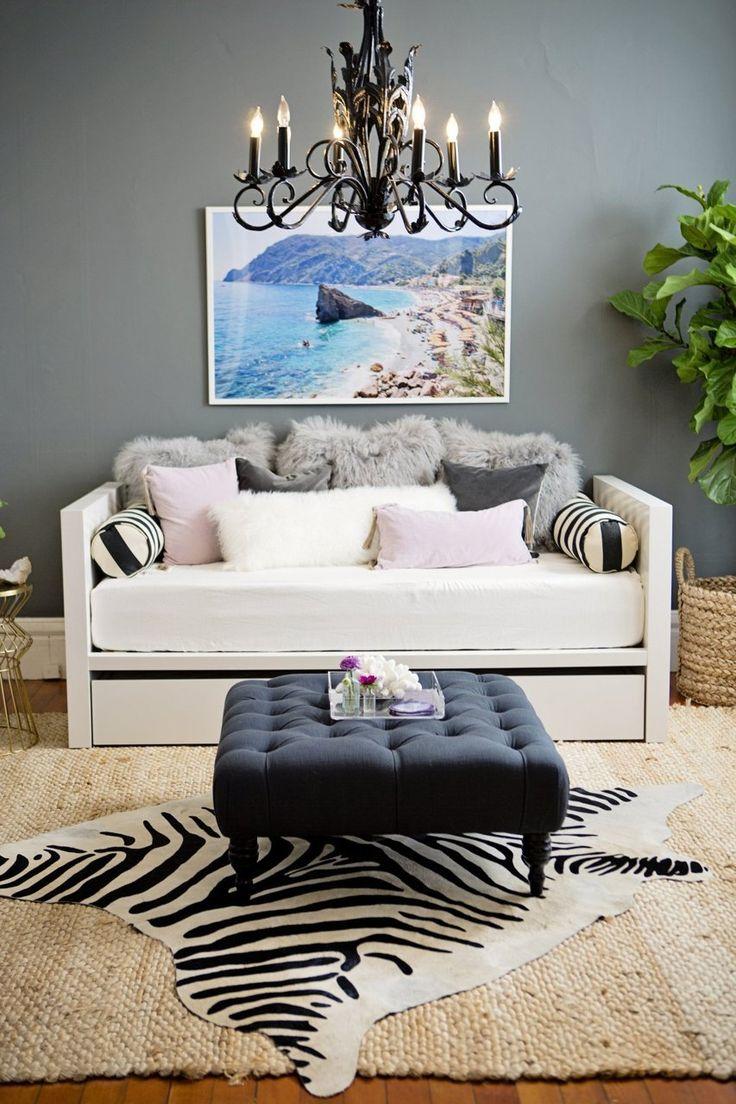 Daybed sofa ideas - Meg S Classic Glamorous Apartment