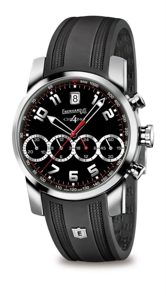 Chrono 4 (Patented- Registered Design) #Eberhard