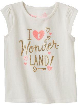 Disney Disney's Alice in Wonderland Toddler Girl Glitter Tee by Jumping Beans®
