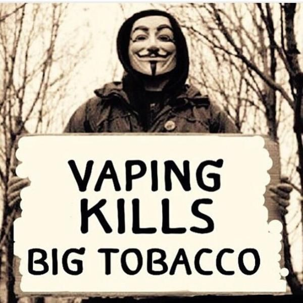TRUTH! VAPING IS MY RIGHT TO CHOOSE. NOT THE FUCKING FDA AND ALL THE OTHER DOUCH BAG GOVERNMENT OFFICIALS. YOU ALL CAN SUCK MY VAPE. #FUCKBIGTOBACCO BIG TOBACCO HAS THE FDA WRAPPED AROUND THEIR FINGERS. SO THE DEATH DEALERS DONT GO BROKE