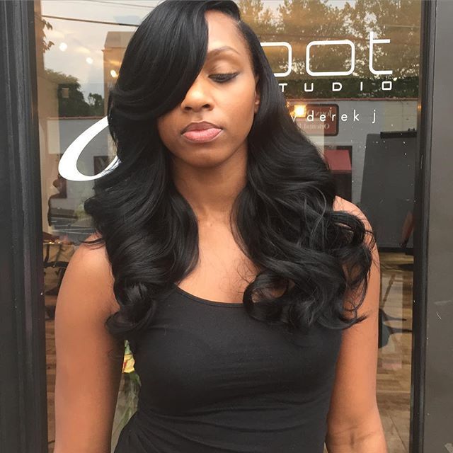 32 best quick weaves images on pinterest quick weave hairstyles quickweave bleutified tiffanybleu weave bob hairstylesprotective hairstyleslong pmusecretfo Image collections