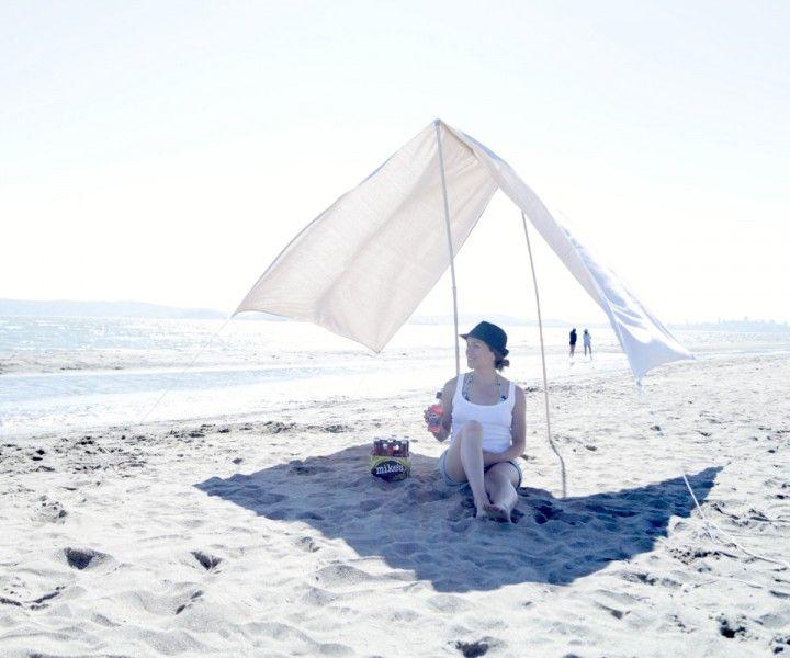 НАША     СТРАНА    МАСТЕРОВ: Необычный пляжный тент. Мастер класс.