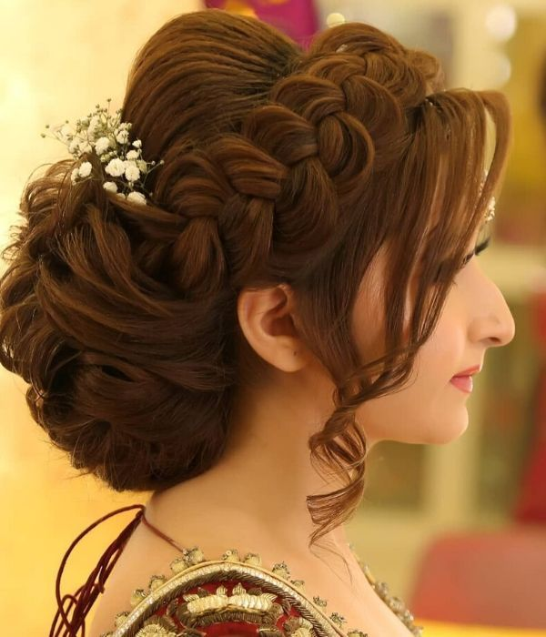 Easy Wedding Hairstyle Ideas For Women Front Hair Styles Medium Hair Styles Bridal Hair Buns