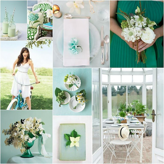 spring green: Inspiration Board, Spring Green, Color Palettes, Spring Wedding, Wedding Ideas, Emerald, Wedding Colors, Green Wedding