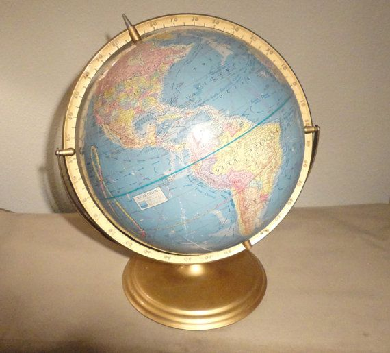 Rare Gold Vintage Precision Full 12 MidCentury by AntiqueApartment, $149.00