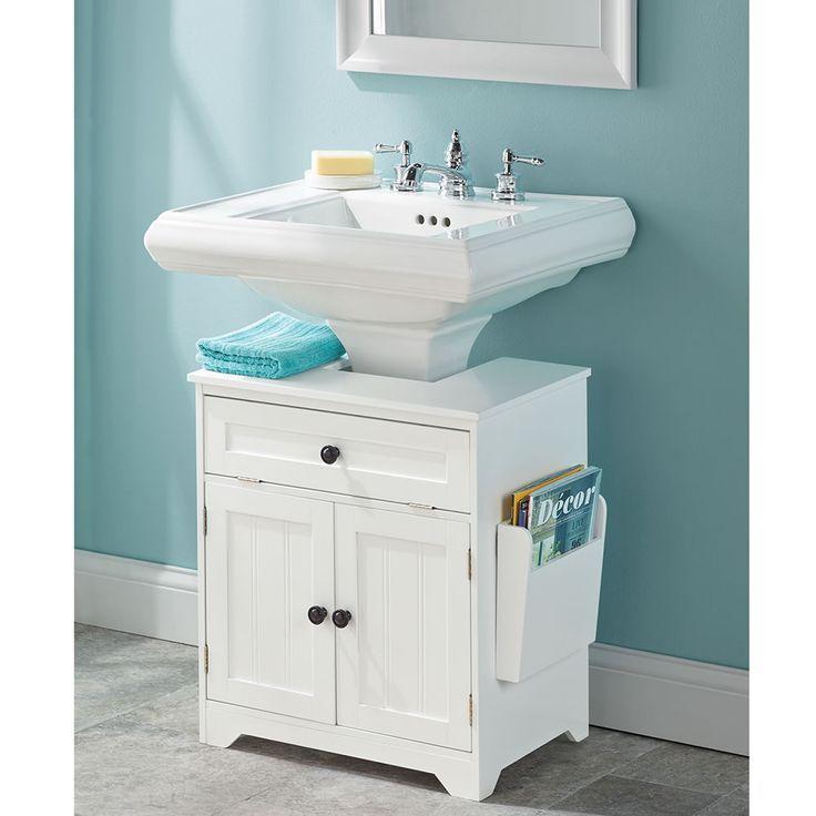 The Pedestal Sink Storage Cabinet Mhelmbodg Mix Pedestal Sink Storage Small Bathroom Storage Sink Storage