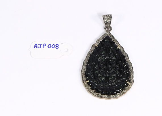 Summer Special Antique Style Handmade Drop Black by AcmeJewels