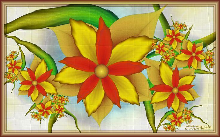 Early Fall Flowers by JCCJ756