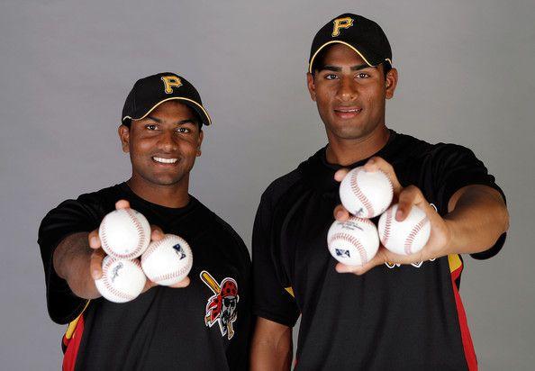 Dinesh Patel and Rinku Singh - Pittsburgh Pirates