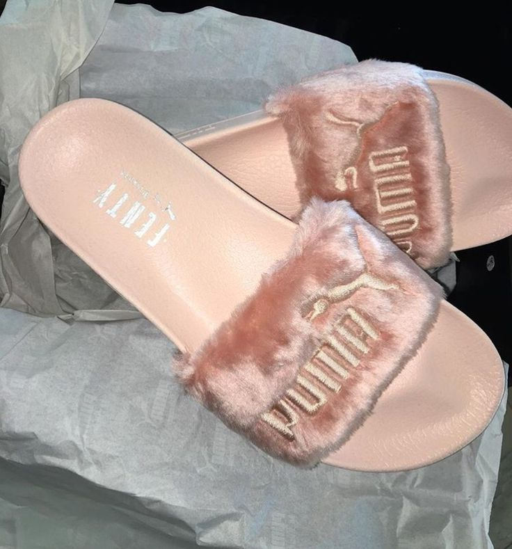 Puma slides by Rihanna