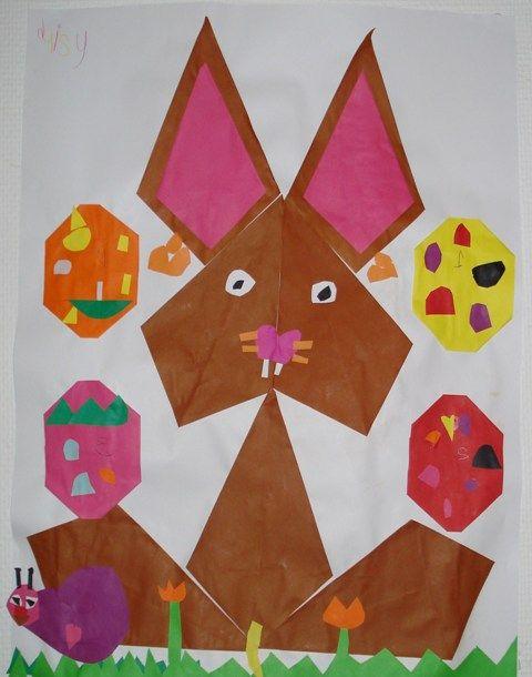 * Laat de kinderen 7 x een bruine vlieger vouwen en nogmaals 2 x in huidskleur (een iets kleiner formaat vouwblaadje dan de bruine). Vervolgens naar patroon opplakken en verder versieren.